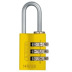 ABUS Travel Series 145/20 Yellow