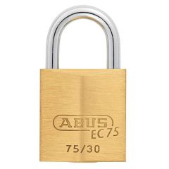 ABUS Brass 75/30 with 5 keys