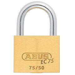ABUS Brass 75/50 with 5 keys