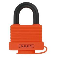 ABUS Aluminium 70AL/45 Orange Keyed Alike