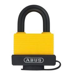 ABUS Aluminium 70AL/45 Yellow Keyed Alike