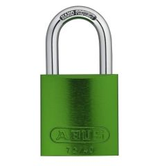 ABUS Aluminium 72/40 Green Keyed Alike