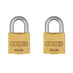 ABUS Premium 65/20 Twin Pack