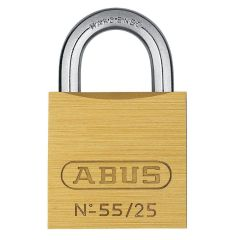 ABUS Solid 55/25 Keyed Alike