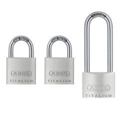 ABUS Titalium 64TI/40+HB63 Triple Pack