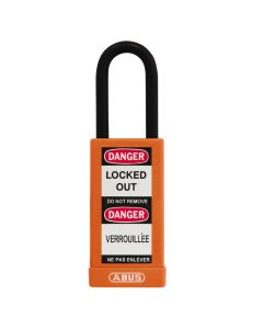 ABUS The Safety Lock 74LB/40 Orange with 1 key