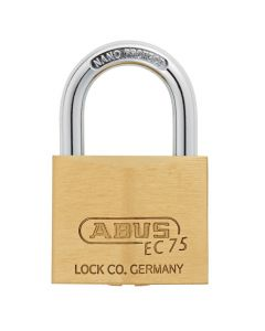 ABUS Brass 75/40 with 5 keys
