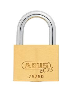 ABUS Brass 75/50 with 5 keys
