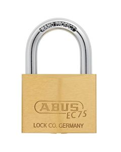 ABUS Brass 75/60 with 5 keys