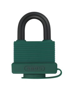 ABUS Aluminium 70AL/45 Green Keyed Alike