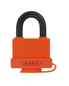 ABUS Aluminium 70AL/45 Orange Keyed Alike