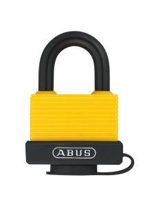 ABUS Aluminium 70AL/45 Yellow Keyed Alike