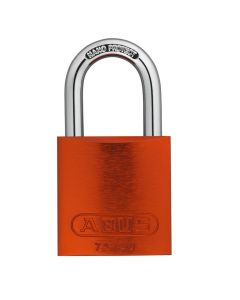 ABUS Aluminium 72/40 Orange Keyed Alike