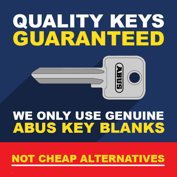 ABUS Keys Quality Guaranteed